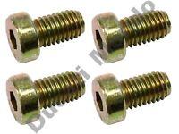 Rear brake disc bolts set of 4 OEM for Ducati 748 916 996 998 MH900e S SP R SPS