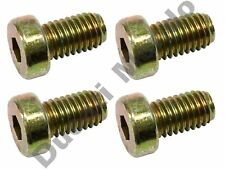 Rear brake disc bolts set of 4 OEM for Ducati 748 916 996 998 MH900e S SP R SPS
