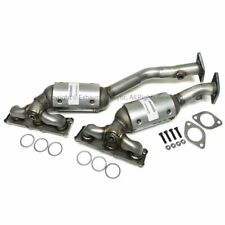 2007-2012 BMW 328i 3.0L Manifold Catalytic Converter 2 PIECES PAIR