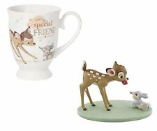 Disney Magical Moments Bambi & Thumper - Special Friends Figurine & Mug -Limited