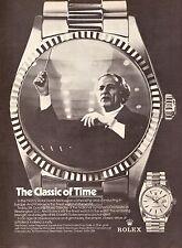1974 Rolex Watch Antal Dorati Conductor Print Advertisement Ad Vintage VTG 70s