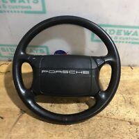 89-94 Porsche 911 964 Steering Wheel & Airbag Black OEM Used Air Bag