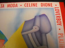 Celine Dion rare misspelled 1988 Canada music biz Promo Poster Ad mint condition