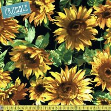 Michael Miller Fabric Sunny Bloom Sunflower Sunshine PER METRE Flower Flowers Fl