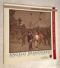 ANGELO BRANDUARDI CD FUTURO ANTICO VI EMI 8032732380169 2009 MUSICA ITALIANA
