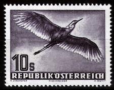 Österreich 987 **, 10 S. Flugpost-Ausgabe Vögel-Graureiher