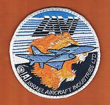 "ISRAEL IAI ""LAVI""  FOURTH-GENERATION MULTIROLE  JET FIGHTER RARE VINTAGE  PATCH"