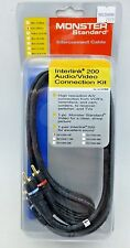 Monster Standard InterLink 200 Interconnect Cable kit 1 meter Audio and video