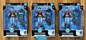 McFarlane Toys DC Comics Multiverse The Merciless Series Earth 22 Robin Crow Set