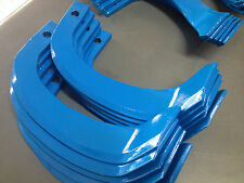 New 22 x rotary hoe blades for Japanese type rotary tillers, Kubota, Yanmar etc.