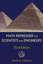 Math Refresher for Scientists and Engineers-ExLibrary
