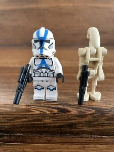 LOT LEGO STAR WARS 75280 MINIFIGURES NEW 501ST CLONE TROOPER + BATTLE DROID