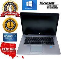"HP EliteBook 850 G2 15"" i5-4210U 1.70GHz 4GB RAM 500GB HD Win 10 pro 1 year WTY"