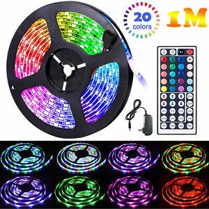 1m-20m LED Stripe SMD RGB Leiste Streifen Band Licht Leuchte Lichterkette fashi