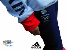 ADIDAS TEAM GB RIO 2016 ELITE FEMALE OLYMPIC ATHLETE PRESENTATION PANTS Size 12