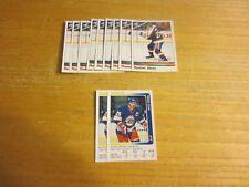 Thomas Steen Lot of 11 Sticker Trading Cards NHL Hockey Winnipeg Jets