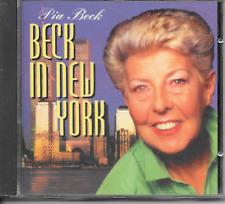 PIA BECK - Beck in New York CD Album 14TR Jazz Holland 1993 RARE!