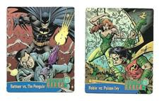 BATMAN DETECTIVE CARDS FROM NERDS CANDY (2 DIFFERENT)