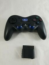 PS2 Logitech Wireless Controller with Receiver Tested Works Great W/ Dongle