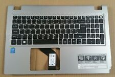 Acer Aspire V15 Palmrest with UK Keyboard Silver EAZRR00301R