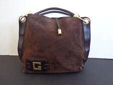 Vintage Givenchy Suede & Leather Handbag INV 2027