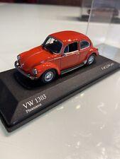 Minichamps 1:43 VW Käfer Volkswagen 1303 Phoenixrot limitiert 1344 pcs Box