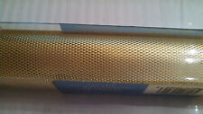 "METAL WORKS DECORATIVE METAL MESH BRASS 12""x12"" /30cmx30cm (gold color) new!"