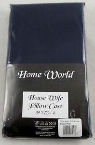 Bulk Buy Wholesale Bedding - 40 Pairs (80pcs) Pillow Cases Assorted Colours