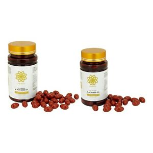 180 x STRONG Cold Pressed Black Seed Oil Capsules 500mg With Multivitamins