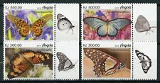 Angola Butterflies Stamps 2019 MNH Butterfly Insects Fauna 4v Set
