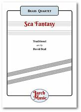 A SEA FANTASY (Selection) - Brass Quartet Sheet Music Score and Parts NEW
