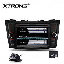 "7"" HD Car DVD Player GPS NAV Sat Radio Bluetooth Camera For Suzuki Swift Ertiga"