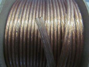 3M Transparent (1.5mm²) OFC Speaker Cable/Wire/Car Audio/Sub/Home Cinema/HIFI