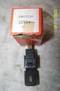 1977-80 MGB OE LUCAS  HEADLAMP SWITCH 30924 1980 ROVER 3500-SD 1