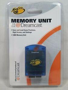 Mad Catz 128K Memory Card Unit for Sega Dreamcast Brand New