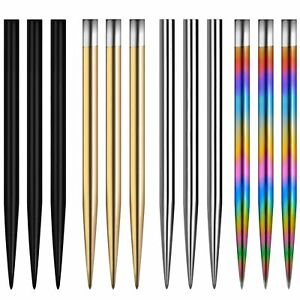 Mission Glide Replacement Dart Points Smooth Darts Point 6 x Lengths 4 x Colours