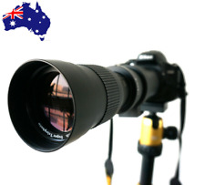 JINTU 420-800mm Telephoto Lens for Sony E-mount NEX-3 5 6 7 7R A5000 A6300 A6500