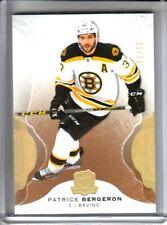 2016-17 The Cup Gold Spectrum #9 Patrice Bergeron /12 Boston Bruins