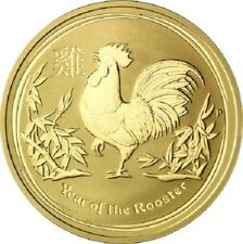 100 Dollar Australia 2017 BU - 1 OZ Gold Year of the Rooster 2017
