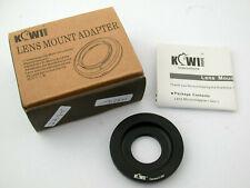 KIWI FOTOS Lens Mount Adapter Camera C-EM   C-mount Lens to Sony NEX /19