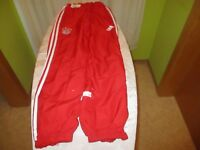 FC Bayern München Original Adidas Kinder Freizeit- Trainingsanzug Hose Gr.164