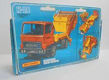 Repro Box Matchbox SuperKings K-28 Skip Truck