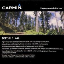 Garmin TOPO U.S. 24K Maps GPS MicroSD Data Card US Coverage (Choose Your Region)