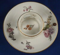 Antique 18thC Meissen Porcelain Trembleuse Saucer Porzellan Untertasse German