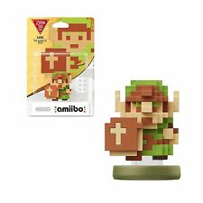 NINTENDO AMIIBO LINK THE LEGEND OF ZELDA 30th ANNIVERSARY 8 BIT WIIU SWITCH 3DS