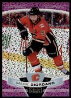 2019-20 OPC Platinum Violet Pixels #23 Mark Giordano /399 - Calgary Flames