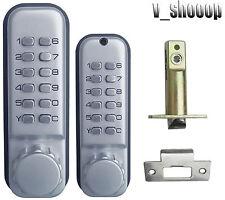Double-sided weatherproof Mechanical Combination Entrance Keyless Door Lock