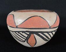 Old Vintage SANTO DOMINGO PUEBLO (Kewa) Art Pottery Bowl