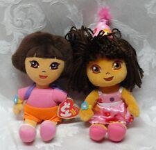 Dora the Explorer Backpack Purple Magic Satchel Birthday TY Viacom Nickelodeon