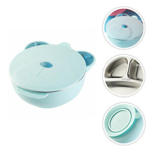 Thermal Insulation Baby Tableware Bowl Portrable Suction Bowl